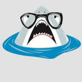 Hipster Shark